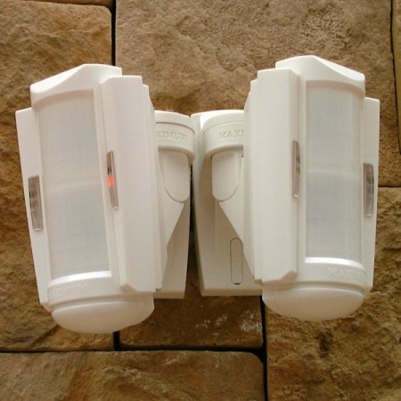 GUARD Outdoor perimeter intruder intrusion detector sensor